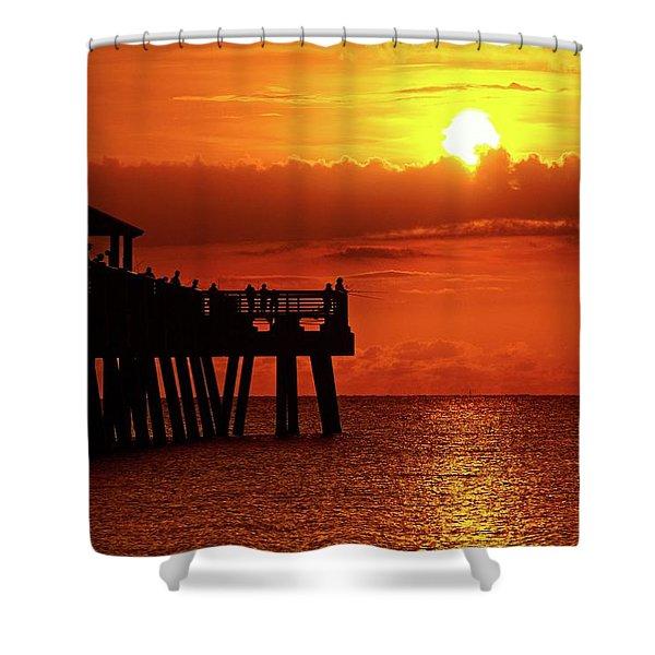 Juno Pier 6 Shower Curtain