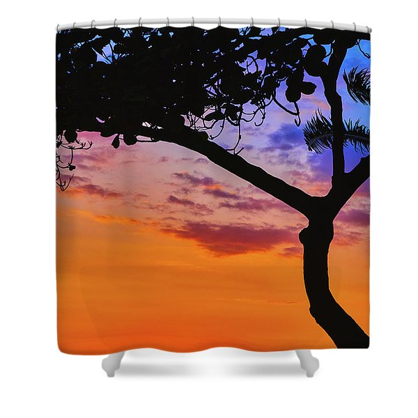 Just Another Kona Sunset Shower Curtain