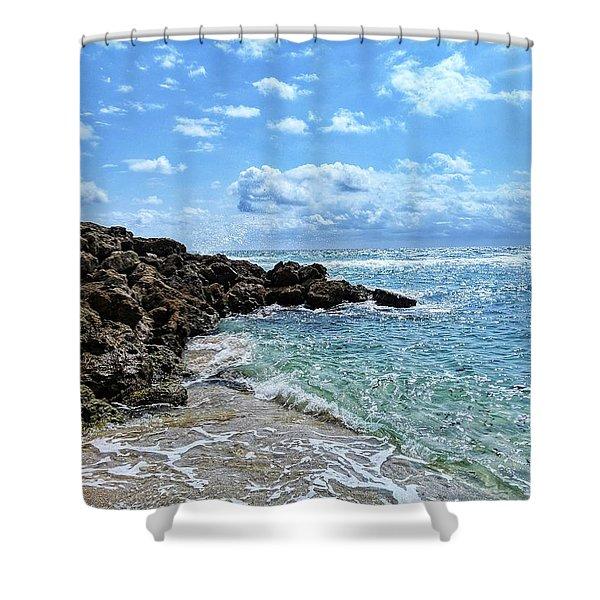 Just Beachy Shower Curtain