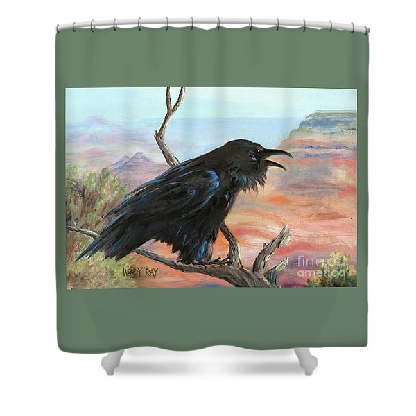 Just Grand Shower Curtain