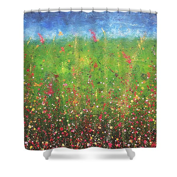 Just Wandering Shower Curtain