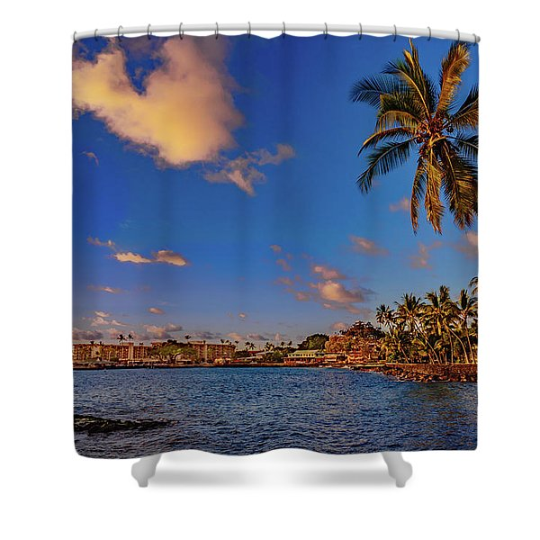 Kailua Bay Shower Curtain
