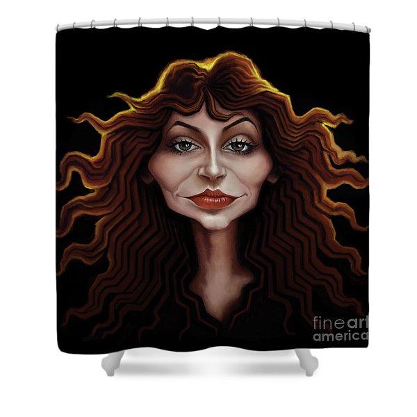 Kate Bush Shower Curtain
