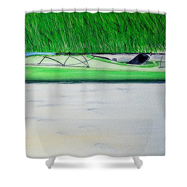 Kayak Essex River Shower Curtain