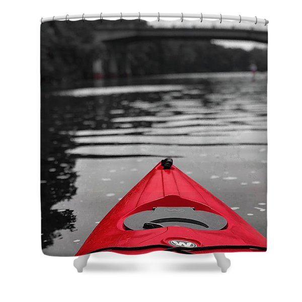 Kayaking The Occoquan Shower Curtain