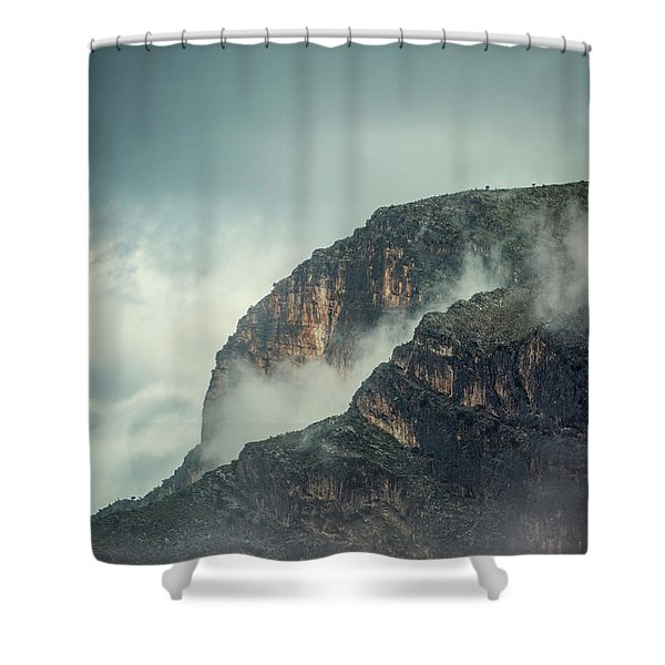 Keep On Rising Shower Curtain