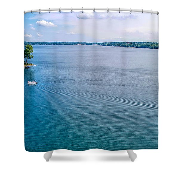 Keuka Days Shower Curtain