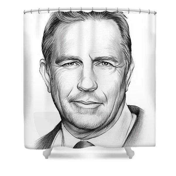 Kevin Costner Shower Curtain