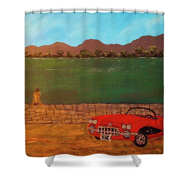 Kicks On Route 66 Shower Curtain