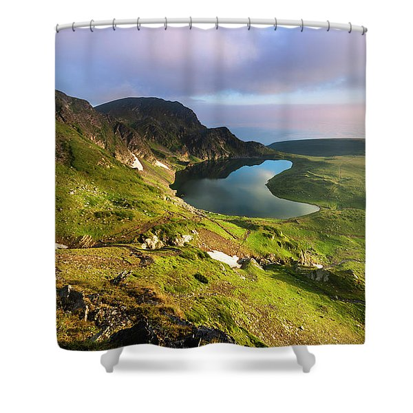 Kidney Lake Shower Curtain