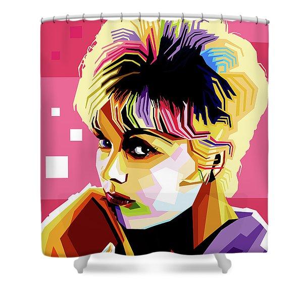 Kim Novak Shower Curtain