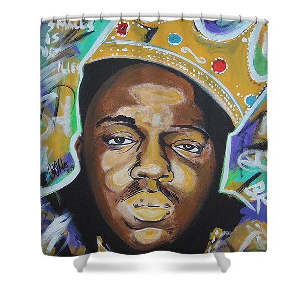 King Christopher Shower Curtain