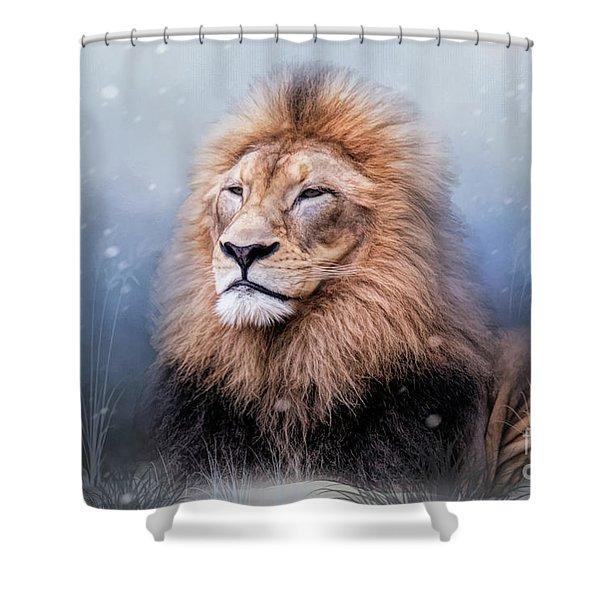 King Winter Shower Curtain