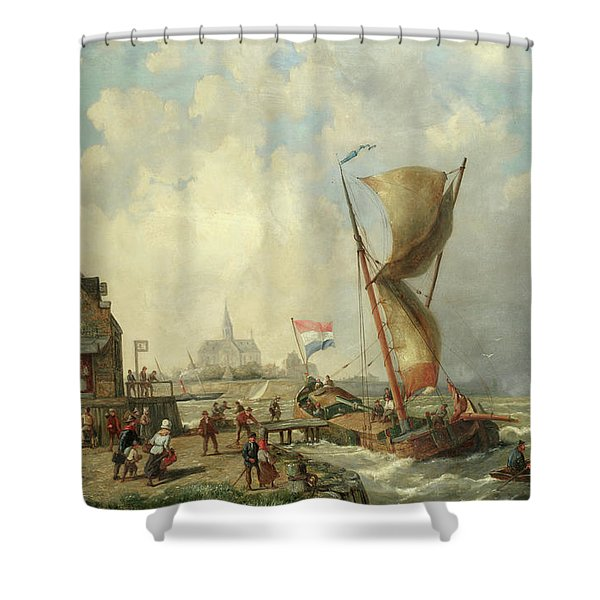 Koudum, Holland Shower Curtain