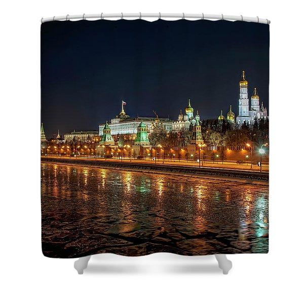 Kremlin Shower Curtain