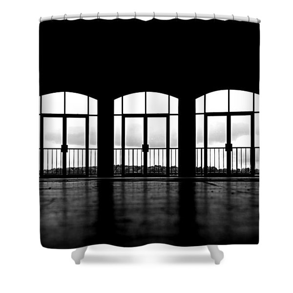 Kresge Stage Shower Curtain