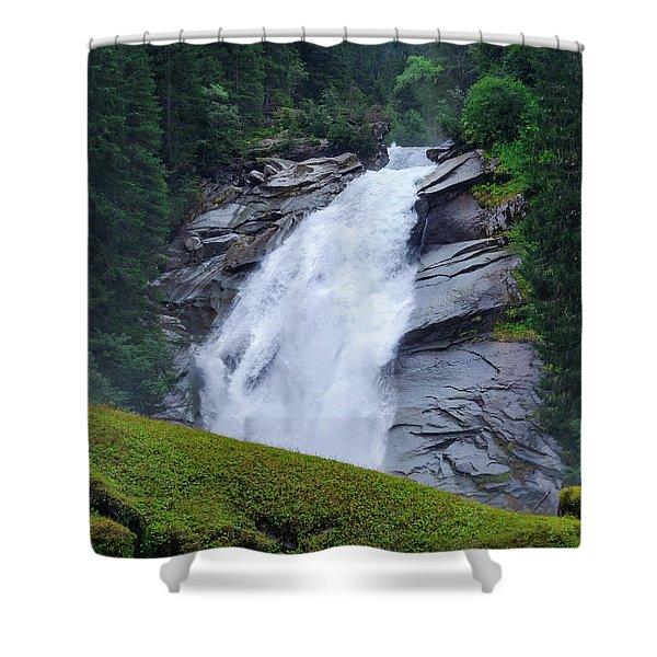 Krimml Waterfalls IIi Shower Curtain