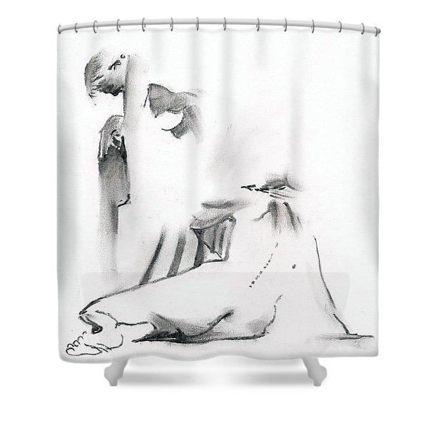 Kroki 2018 09 29 -15 Shower Curtain