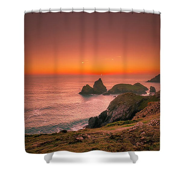 Kynance Cove Shower Curtain