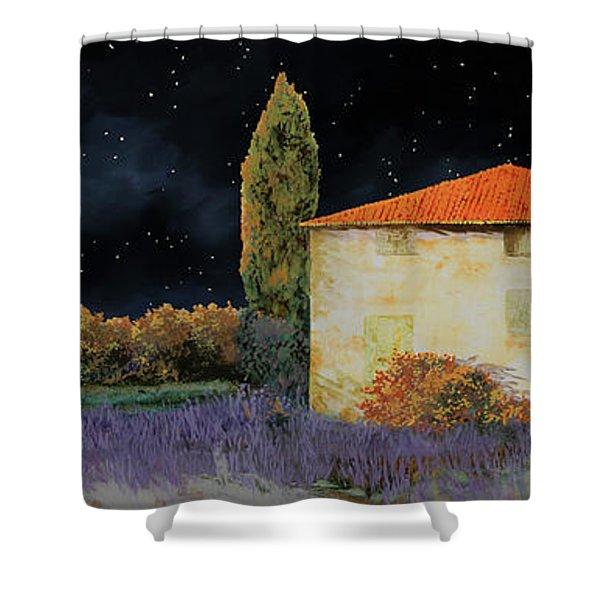 La Casa Tra Le Lavande Shower Curtain