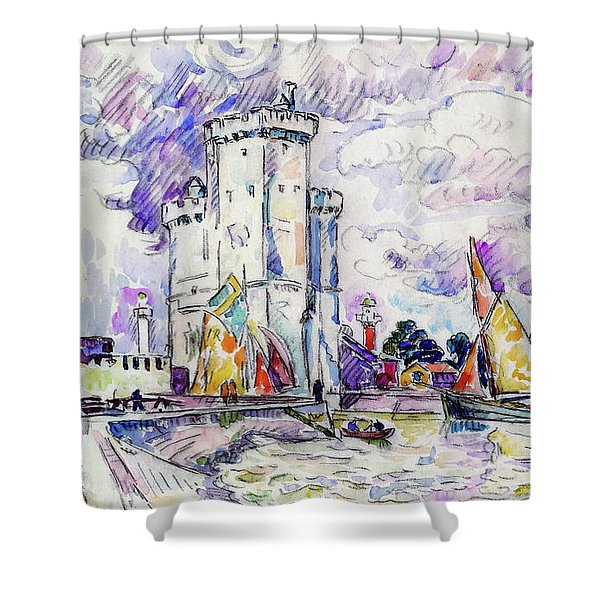 The Rochelle - Digital Remastered Edition Shower Curtain