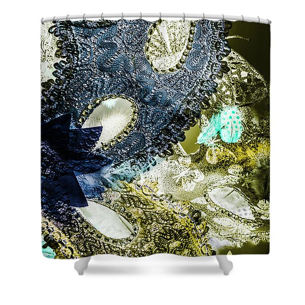 Lacy Luxury  Shower Curtain