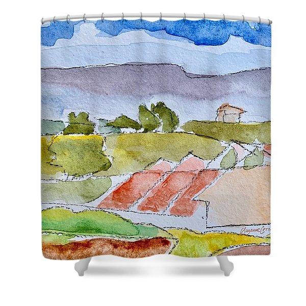Laguna Del Sol #4 Shower Curtain