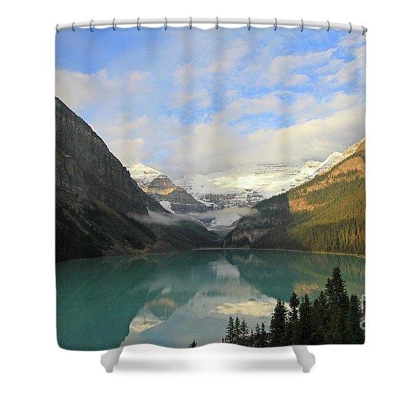Lake Louise At Dawn Shower Curtain