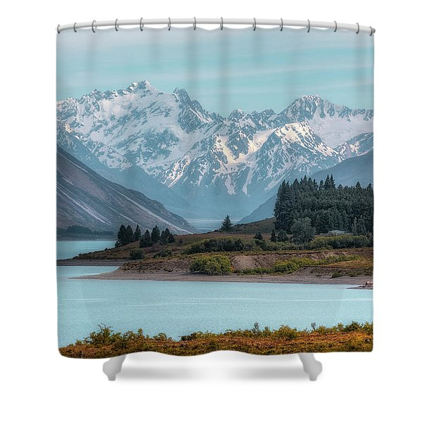 Lake Tekapo - New Zealand Shower Curtain