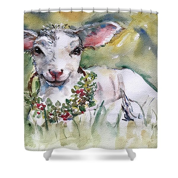 Lamb Shower Curtain