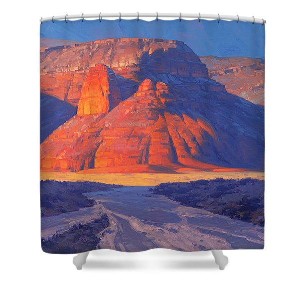 Land Of Castles Shower Curtain