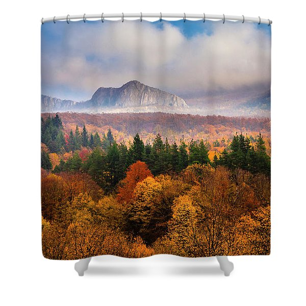 Land Of Illusion Shower Curtain