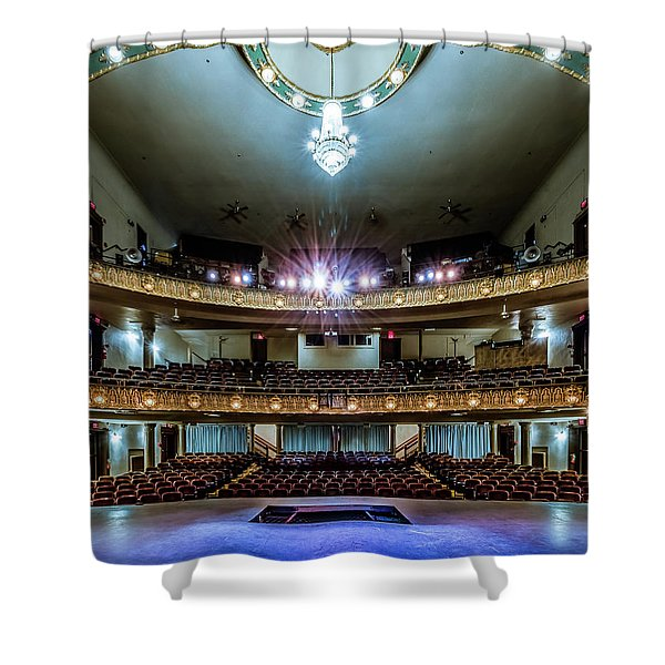 Landers Theatre Stage View Shower Curtain
