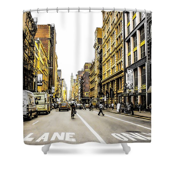 Lane Only  Shower Curtain