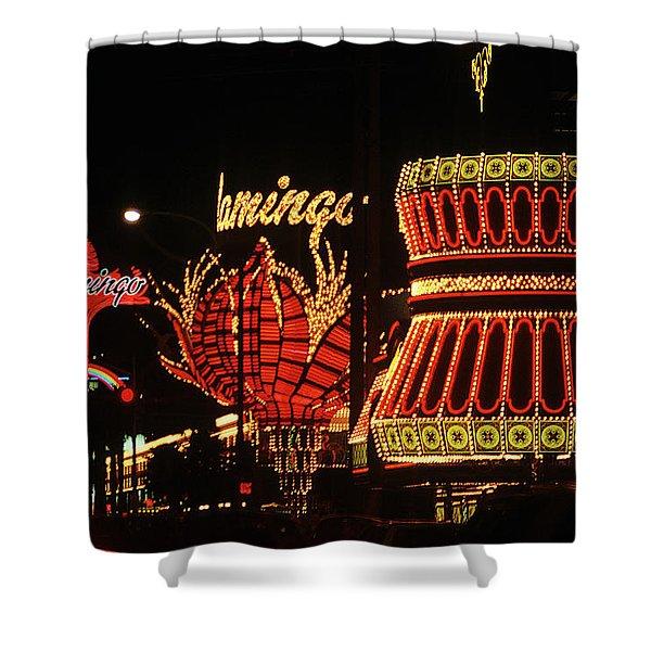 Las Vegas 1984 #2 Shower Curtain