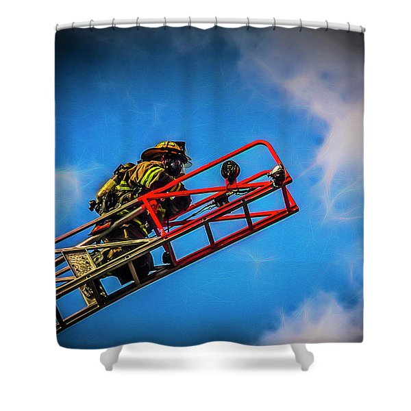 Last Fire Shower Curtain