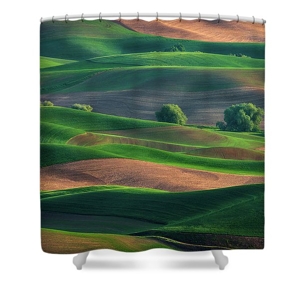 Late Afternoon In The Palouse Shower Curtain