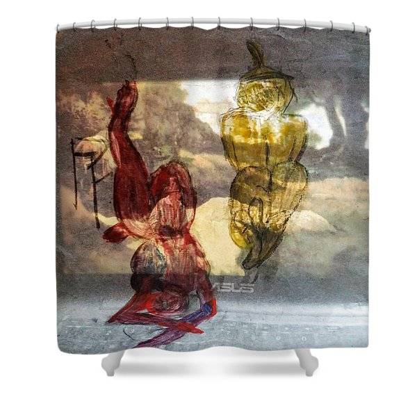 Laying Your Psychopathic Soul Bare Shower Curtain