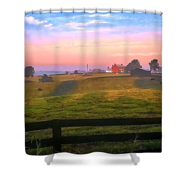Lazy Day Shower Curtain