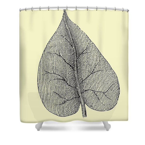 Leaf I Shower Curtain