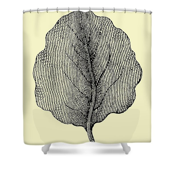 Leaf II Shower Curtain