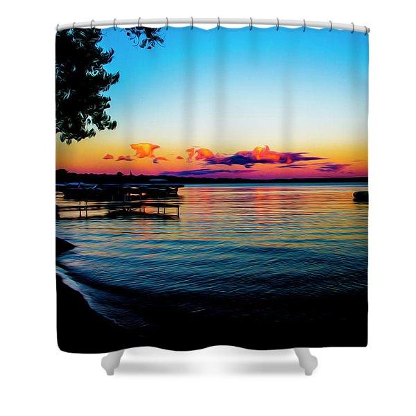 Leech Lake Shower Curtain
