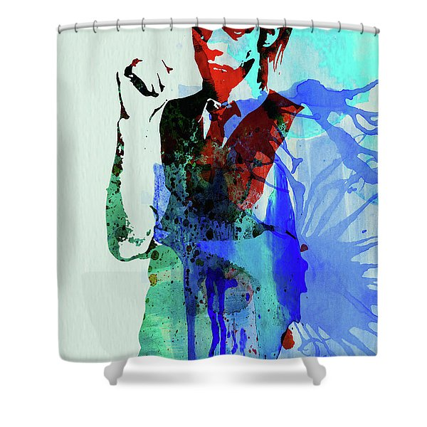 Legendary Nick Cave Watercolor Shower Curtain