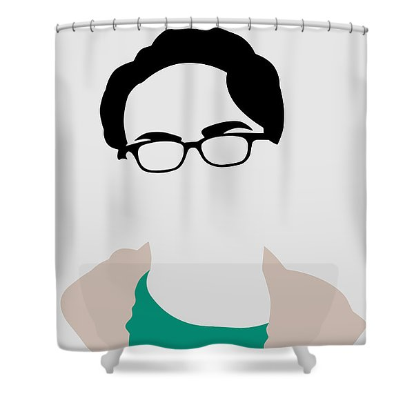 Leonard Portrait Shower Curtain