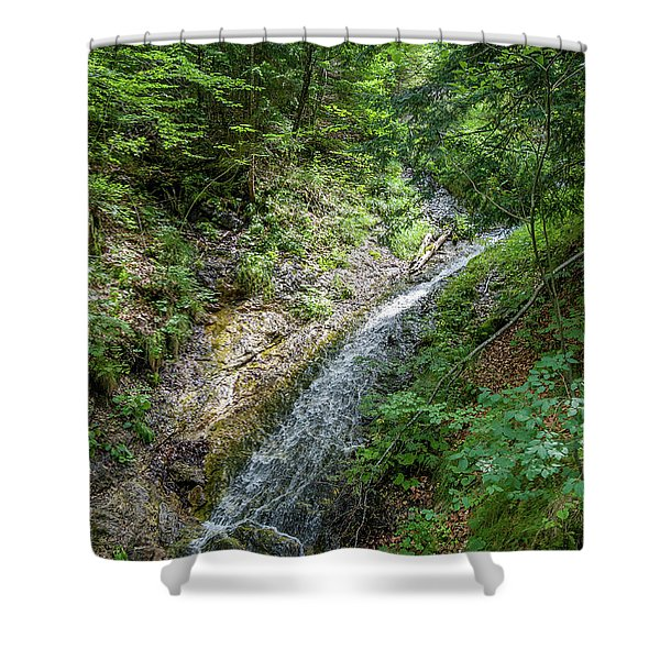 Let The River Run Shower Curtain
