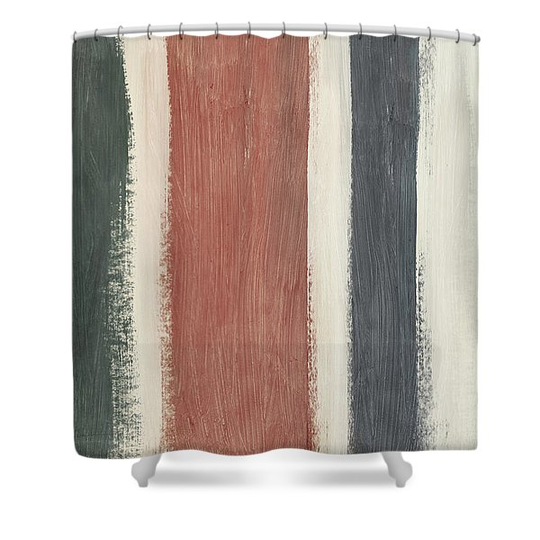 Library- Art By Linda Woods Shower Curtain