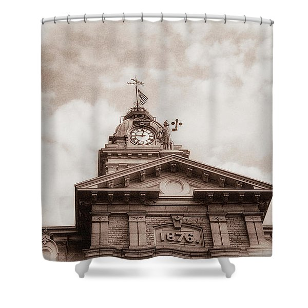 Licking County Courthouse Shower Curtain