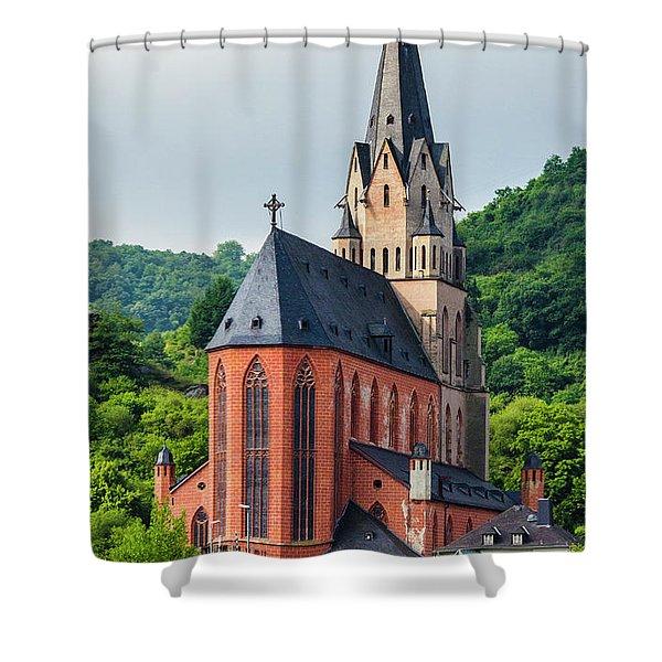 Liebfrauenkirche Oberwesel Shower Curtain