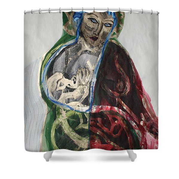 Life Gives And Life Takes Shower Curtain