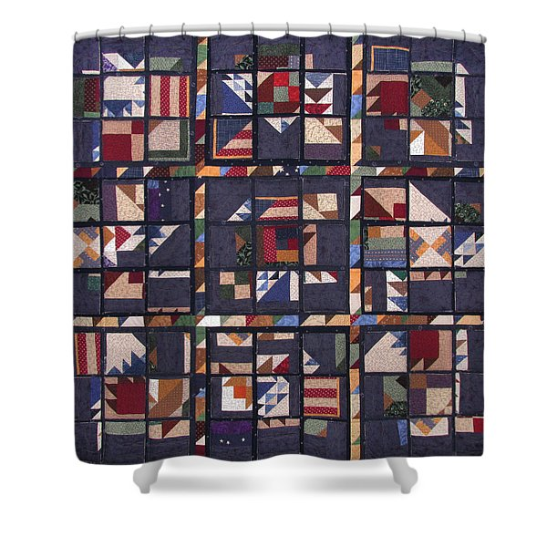 Life Is Like A Box Of Chocolates Shower Curtain